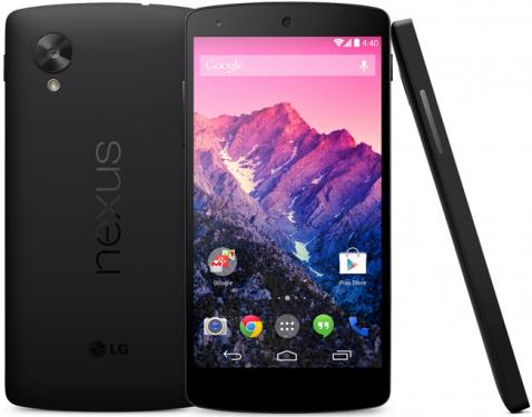 LG推出Google Nexus 5 搭載Android 4.4 KitKat 登場