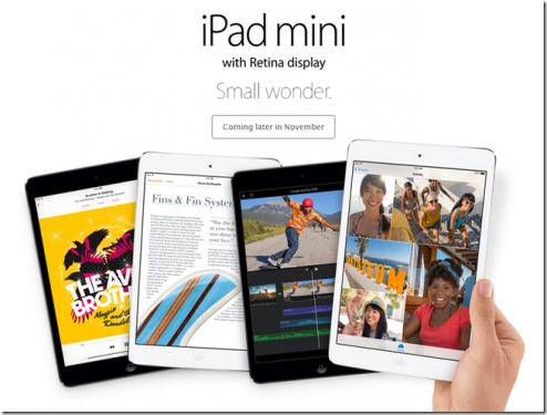 隨著Retina iPad mini登場 簡單了解什麼是Retina
