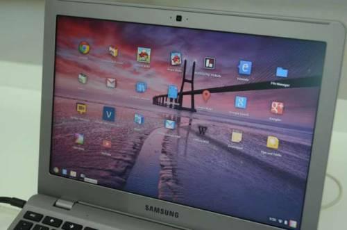 在雲端的筆電 Samsung ChromeBook