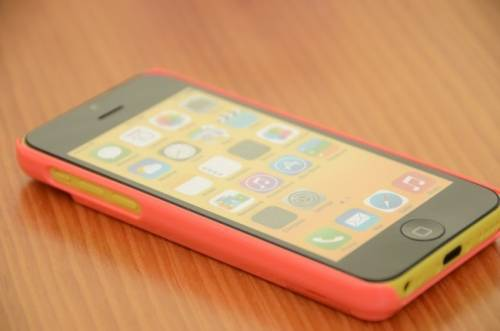 Cube iPhone 5S 5C 保護殼 可站立又可放悠遊卡很方便