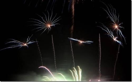 小村莊的盛事 2013國慶煙火海山漁港場次
