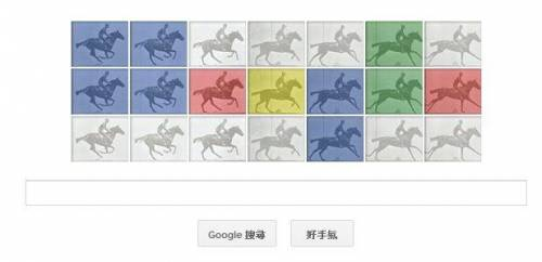 [Google Doodle]實驗攝影大師Eadweard J. Muybridge 182歲誕辰
