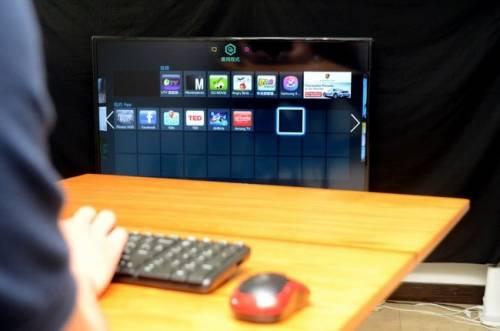 鍵盤滑鼠輕鬆連 電視上網更便利
