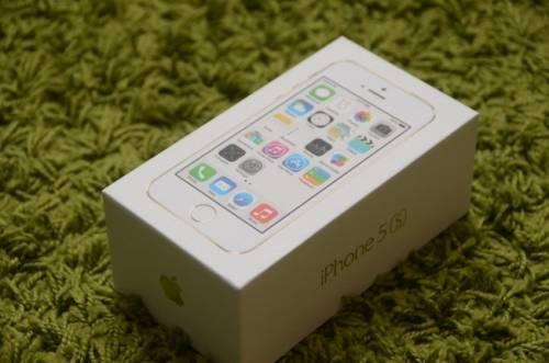 金色iPhone 5S 台灣首波開箱