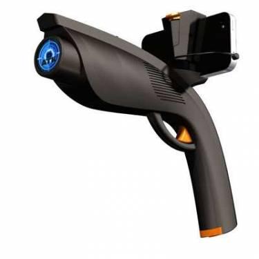 手機玩射擊遊戲無感 加上這把槍呢