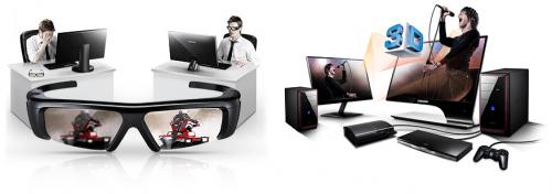 Samsung SA950 3D 顯示器 設計感十足