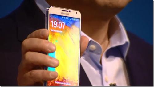 5.7吋 Note 3 Note III 柏林登場 皮革背蓋超質感