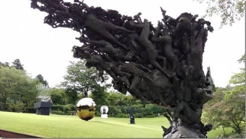 帶著 HTC Butterfly 3 去旅行 日本箱根半日遊 雕刻之森美術館