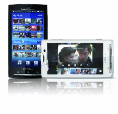 Sony Ericsson X10可升級成Android 2.3