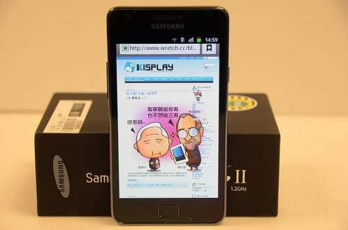Samsung Galaxy S2開箱文