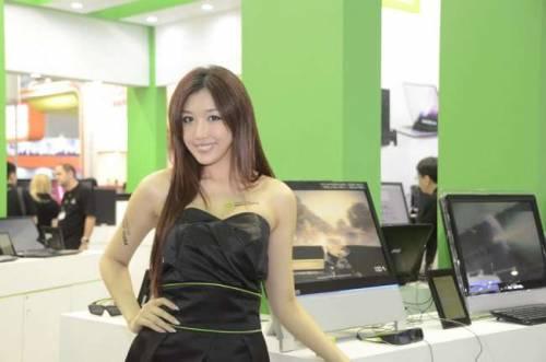 Show Girls就位 Computex 2011 盛大開幕