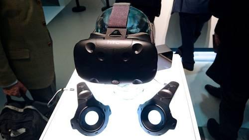 2016 MWC中 HTC VIVE市售版悄悄現身亮相