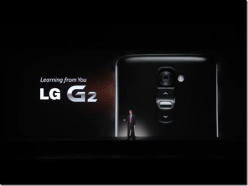 改變使用智慧型手機方式 LG G2紐約發表