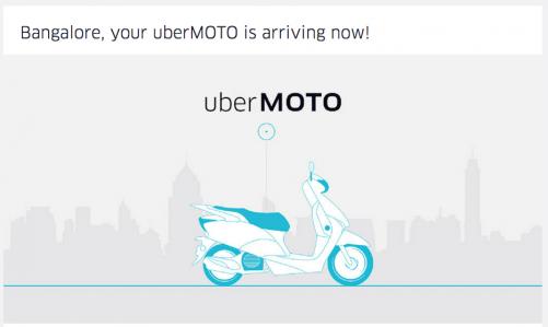 uber推出uberMOTO服務 到印度可以直接叫摩托車接送