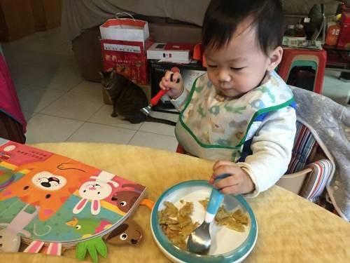 [寶寶食譜] 簡單營養又好玩的香蕉煎餅