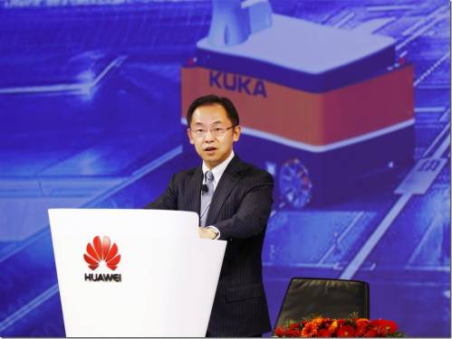 華為與庫卡(KUKA)宣佈戰略合作,加速創造智能生產領域新機會