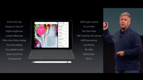 Apple發表會重點快速整理 iPhone SE台灣4月初上市 iPad Pro 9.7登場