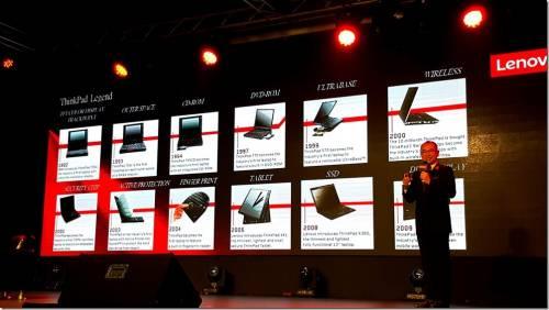 Lenovo 聯想X1 Family 新品登台 小黑迷群聚讚聲