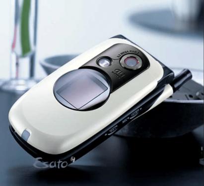 歷史首款具320萬像素鏡頭手機 Casio A5406CA奪下