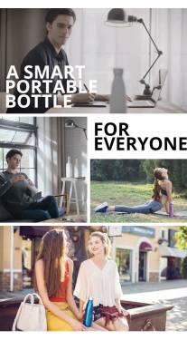 SEED 智慧水杯 聰明的瓶蓋讓你健康飲水