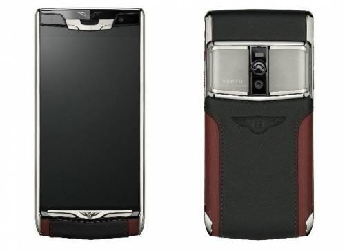 Vertu 再與 Bentley 推出價值不斐聯名機