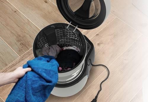 迷你洗衣機 單人租屋者沒藉口堆衣服不洗了!