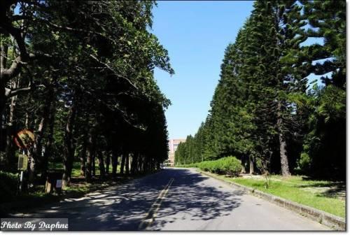 新竹香山 中華大學遊憩地圖 尋找你的大學時代