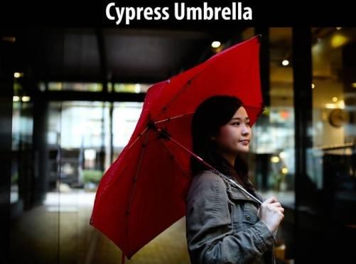 Cypress Umbrella 你的傘不再老是被吹開花
