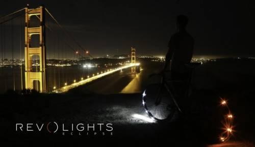 Revolights Eclipse 讓自行車輪子發光 走夜路免驚