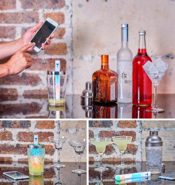 不需學習練功 MixStik 智慧調酒棒助你成為專業調酒師!