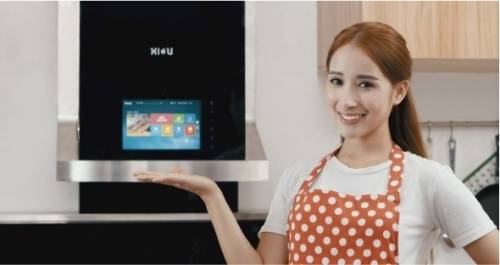 XIU 喜柚互聯網油煙機 做菜也能直播兼追劇