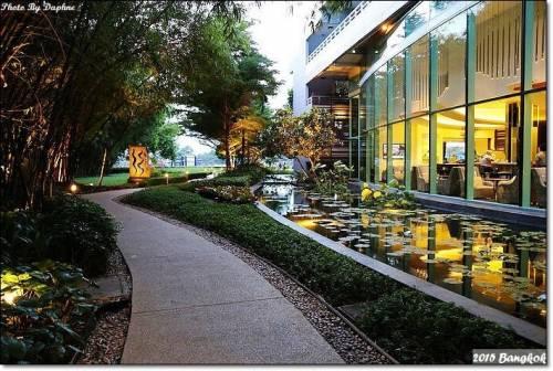 泰國曼谷 Chatrium Hotel Riverside Bangkok 遠眺湄南河景絕美日夜