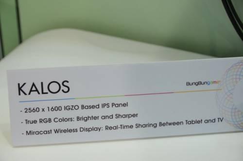 KALOS 平板 WQXGA解析度好驚人