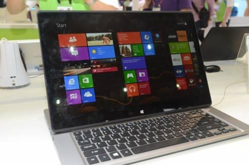 ACER Aspire R7 創新變形 是桌機也是筆電