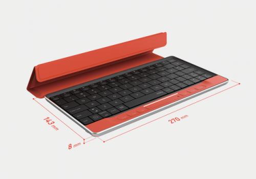 moky藍牙鍵盤好聰明 隔空也能滑平板