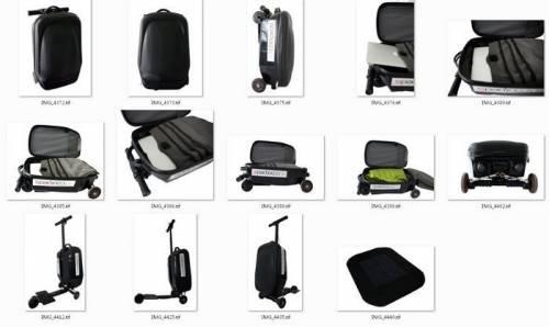 幫你運送行李兼代步 Coolpeds 電動滑板行李箱
