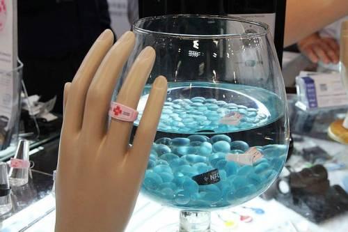 未來的悠遊卡是這樣! KEYDEX NFC 多功能陶瓷智慧指環