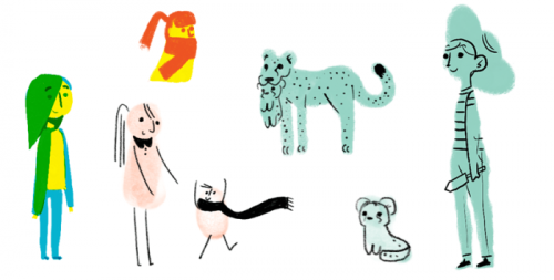 [Google Doodle] 萬物皆有情 母親節快樂!