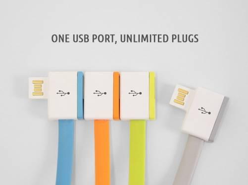 筆電只有一個 USB 孔 InfiniteUSB 幫你無限擴充!