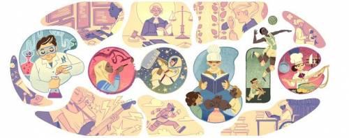 [Google Doodle] 2015 國際婦女節 給世界溫柔而堅定的力量