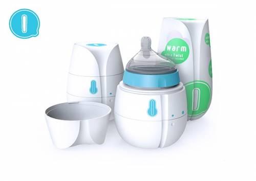 媽媽們外出不怕沒熱水泡牛奶 Qi 自動加熱奶瓶