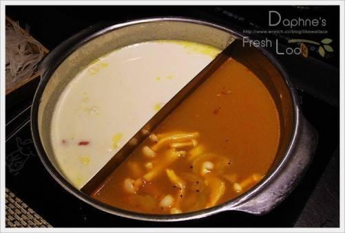 極禾優質鍋物 自家熬湯的單人豪華鴛鴦鍋