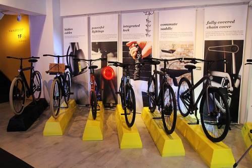 屬於都市人的自行車 單車新星品牌VANMOOF來台設亞洲旗艦店