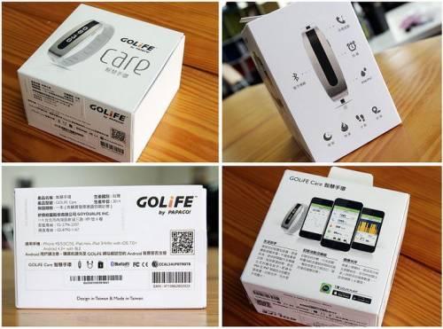 GOLiFE Care 智慧手環 輕巧時尚