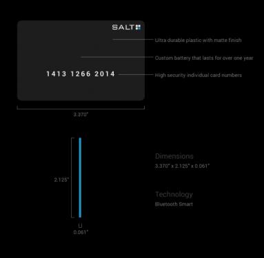 解鎖卡片 SALT Card 自動為手機上鎖解鎖
