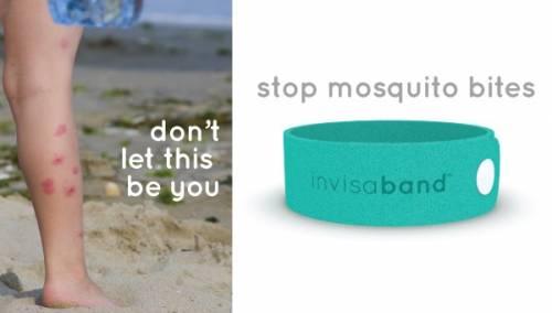 告別塗塗抹抹防蚊液 invisaband天然驅蚊手環讓蚊蟲不敢近身