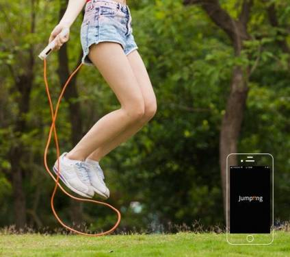 輕盈跳離地球表面 jumping 智慧塑身跳繩