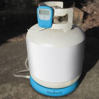 烤肉時怕肉裝熟嗎 Smart GasWatch Scale 丙烷監視器幫你