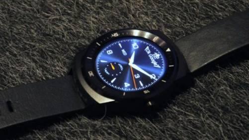 圓形錶盤智慧手錶 LG G Watch R 10 月上市