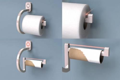 智慧衛生紙架 RollScout 如廁無紙不出糗